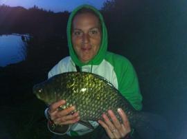 Résultats d'une session de 48 heures dans le Grand étang par Caroline et Romain